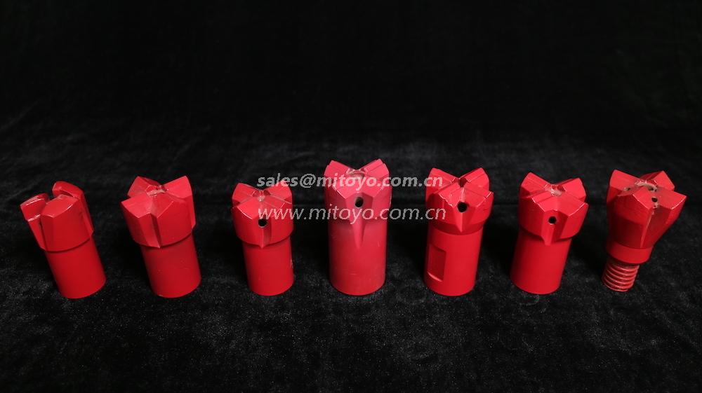 螺纹十字型钎头(Thread Rock Drilling Tools)